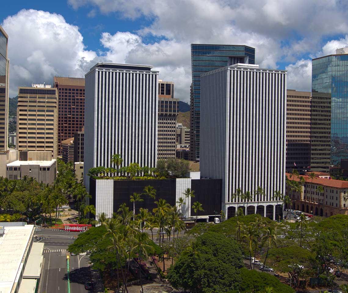 Downtown-Honolulu-Hawaii-Building